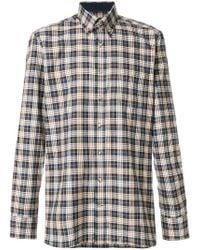 Hackett | Long Sleeved Checked Shirt | Lyst