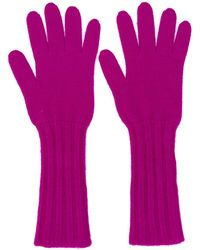Pringle of Scotland Knitted Gloves - Pink