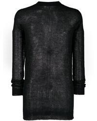 Rick Owens ニットセーター - ブラック
