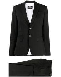 DSquared² Traje con pantalones - Negro