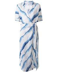 Suboo Estelle Tie-dye Maxi Dress - Blue