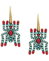 Valentino - Spider Earrings - Lyst