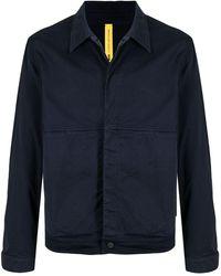 Moncler Куртка-рубашка Coleonyx С Графичным Принтом - Синий