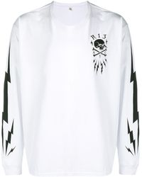 R13 Thunderbolt スウェットシャツ - ホワイト