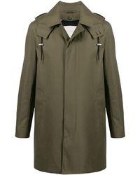 Mackintosh Raintec コットン ショート フーデッドコート Dunoon Hood Gm-1004fd - グリーン