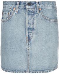 WARDROBE.NYC X Levi's デニムスカート - ブルー