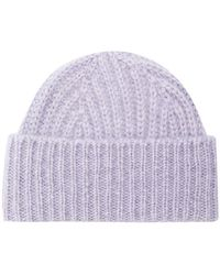 Closed - Ribbed Knit Beanie - Lyst