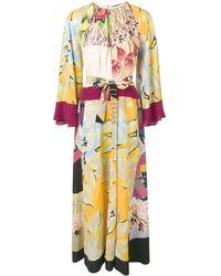 Etro - Printed Maxi Dress - Lyst