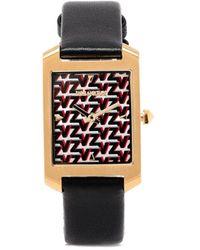 Zadig & Voltaire Timeline Vz-pattern Watch - Metallic