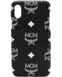 MCM Iphone X/xs ケース - ブラック