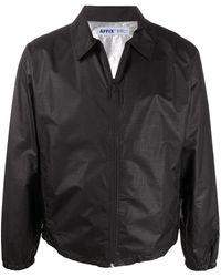 Affix ジップアップ シャツジャケット - ブラック