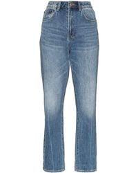 Ksubi Chlo Wasted High-waisted Jeans - Blue