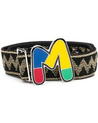M Missoni Ремень С Пряжкой В Виде Монограммы - Многоцветный
