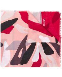 Liu Jo - Abstract Print Scarf - Lyst