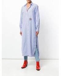 Tommy Hilfiger シャツ ワンピース - ブルー
