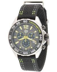 Tag Heuer Наручные Часы Formula 1 Quartz Chronograph 43 Мм - Черный