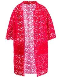 Gianluca Capannolo - Floral Embroidered Coat - Lyst