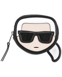 Karl Lagerfeld Karl コインケース - ブラック