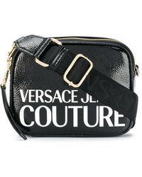 Versace Jeans Couture ロゴ ショルダーバッグ - ブラック