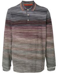 Missoni - カラーブロック ポロシャツ - Lyst
