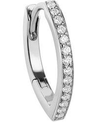 Repossi Antifer ダイヤモンド ピアス 18kホワイトゴールド - マルチカラー