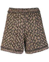 M Missoni - Fantasy Knit Shorts - Lyst