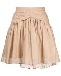 N°21 プリーツ フレアスカート - マルチカラー