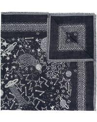 Valentino - Foulard imprimé - Lyst