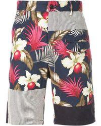 Engineered Garments Hawaiian ショーツ - マルチカラー