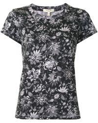 Rag & Bone T-shirt a girocollo Wallpaper - Nero