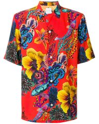 Paul Smith - Floral Print Boxy Shirt - Lyst