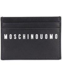 Moschino カードケース - ブラック