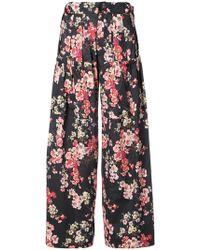 Jill Stuart Jamie Floral Pants - Blue