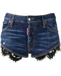 DSquared² Shorts denim - Blu