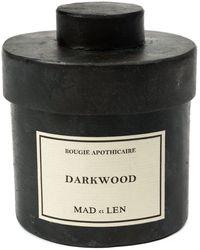 Mad Et Len Darkwood Scented Candle (300g) - Black