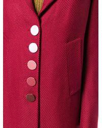 Marco De Vincenzo Supertwill Single Breasted Coat - Красный
