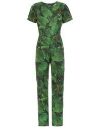 Isolda Printed Alexa Jumpsuit - Зеленый