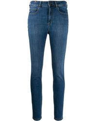Notify Bamboo Mid-rise Skinny Jeans - Blue