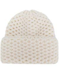 Inverni - Chunky Knit Hat - Lyst