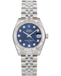 Rolex 2020 Unworn Oyster Perpetual Datejust 31mm - Blue