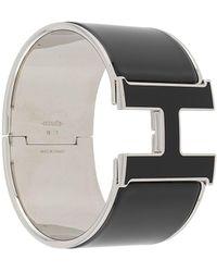 Hermès Pre-owned H Clic-clac Bracelet - Metallic