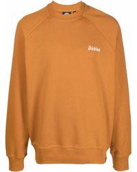 Dickies Construct Sweatshirt mit Logo-Print - Orange