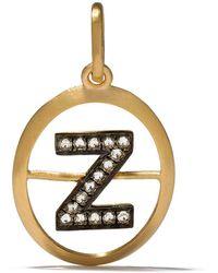 Annoushka Z ダイヤモンド ペンダント 18kイエローゴールド - メタリック