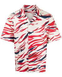 Moncler Рубашка С Принтом Surf - Белый