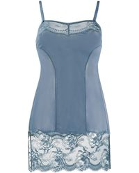 La Perla Brigitta スリップドレス - ブルー
