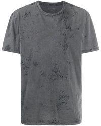AllSaints ペイント Tシャツ - グレー