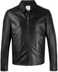 Sandro ライダースジャケット - ブラック