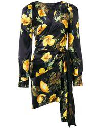Philipp Plein フローラルプリント ドレス - ブラック