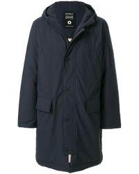 Ecoalf - Hooded Coat - Lyst
