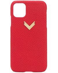 Manokhi IPhone 11-Hülle - Rot